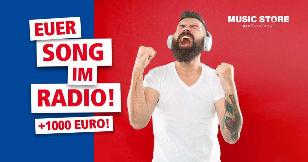 Der MUSIC STORE Band-Contest: Euer Song im Radio und 1.000 Euro Budget für eure Band!