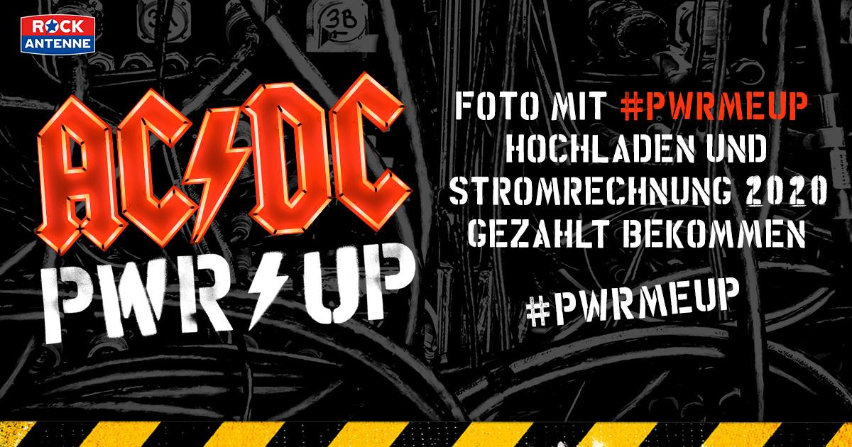 AC/DC und ROCK ANTENNE zahlen eure Stromrechnung!