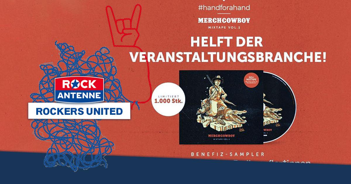 Benefiz-Sampler: Bands sammeln Geld für Veranstaltungsmitarbeiter