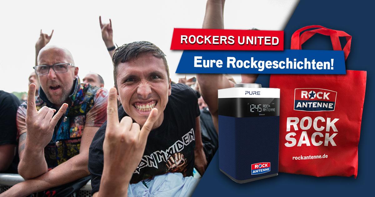 Rockers United: Erzählt uns EURE Rockgeschichten!