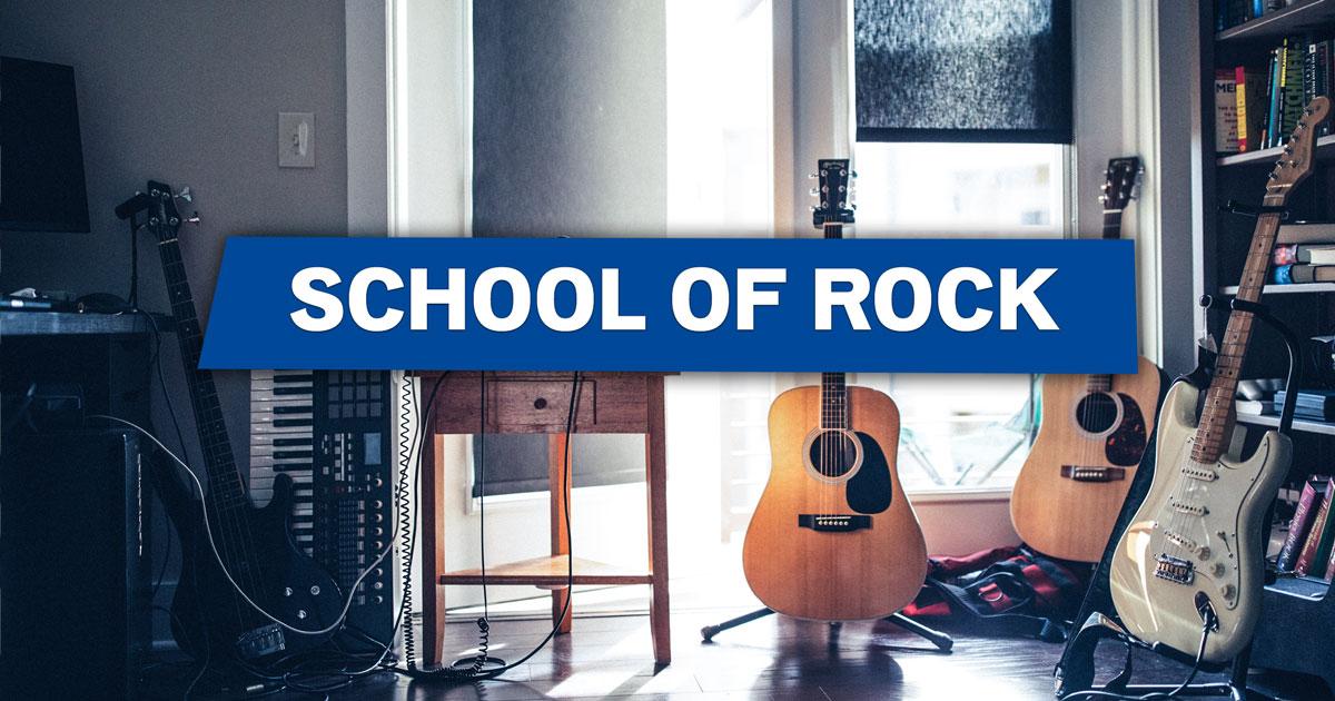 School of Rock: 500 Euro Startkapital für euren Rock-Nachwuchs!