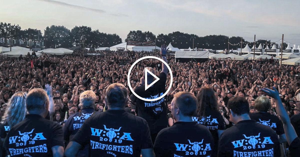Wacken im Radio: Die Wacken Fire Fighters sind dabei!