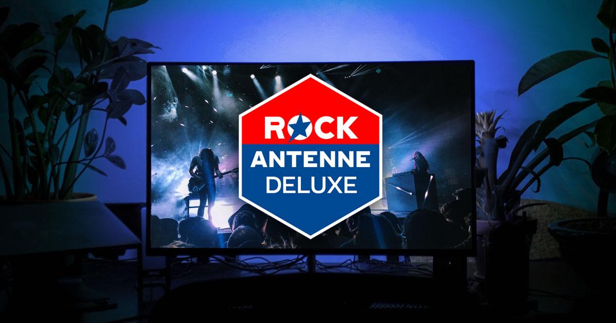 ROCK ANTENNE DELUXE: Seht die besten Musikvideos im Free TV!