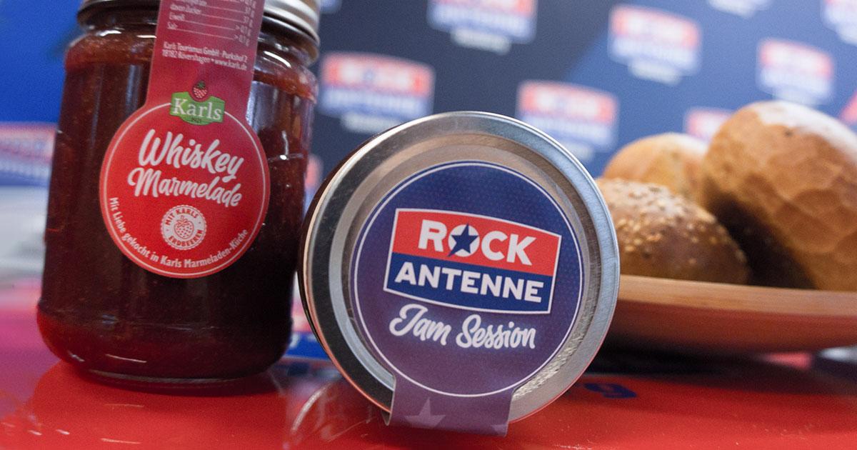 Die ROCK ANTENNE Jam Session: Holt euch die härteste Marmelade der Rock-Republik!
