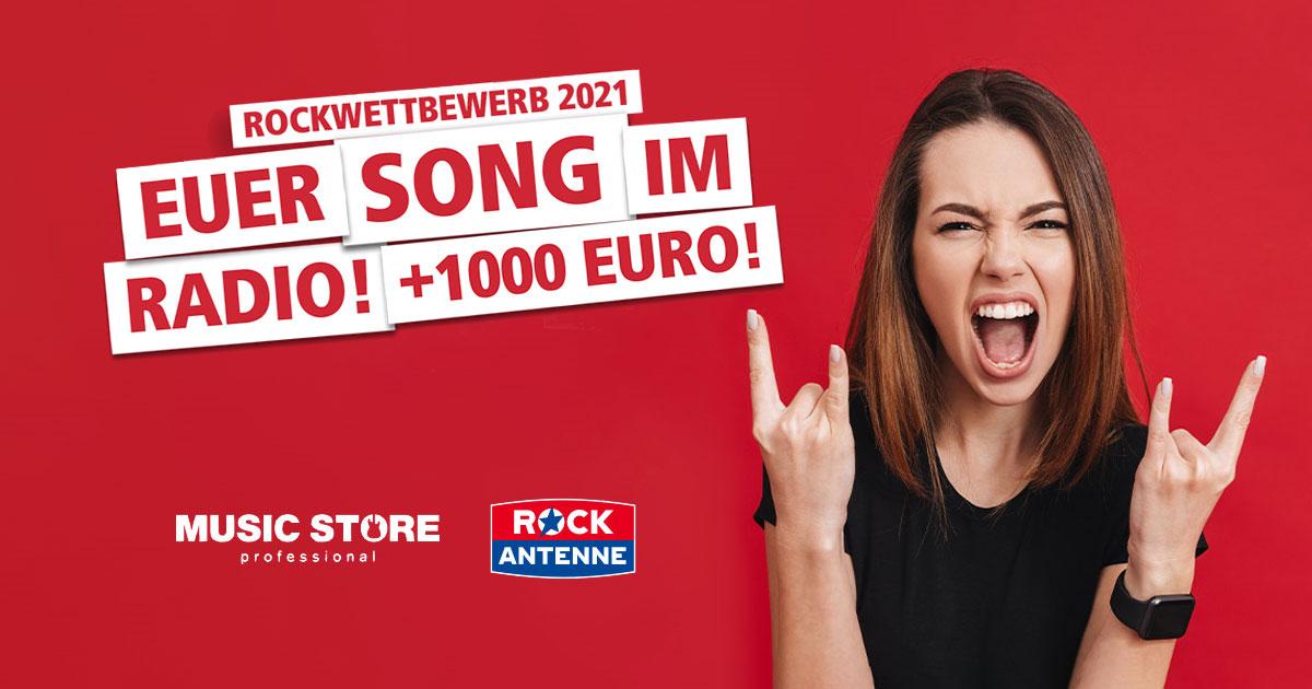 Der MUSIC STORE Band-Contest: Euer Song im Radio und 1.000 Euro Budget - jetzt abstimmen!