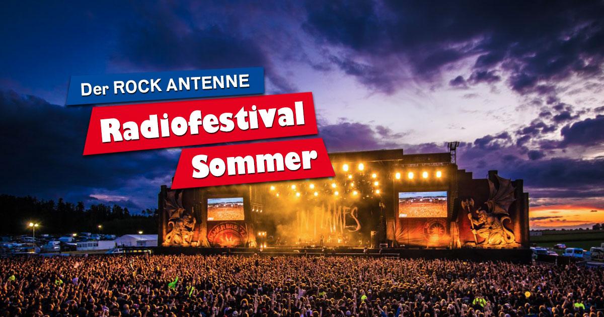 ROCK ANTENNE Radiofestival Sommer: Best of SUMMER BREEZE Open Air von 20. bis 22.08.