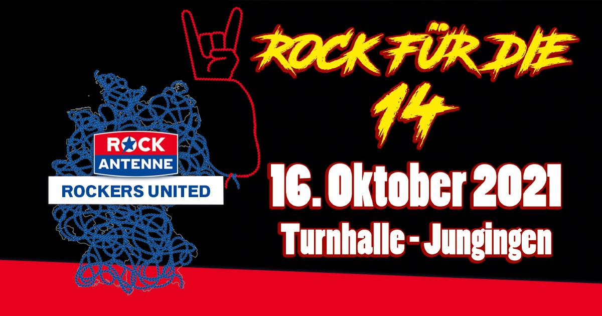 ROCK für die 14: Live-Rock für die Kinder-Krebsstation Tübingen