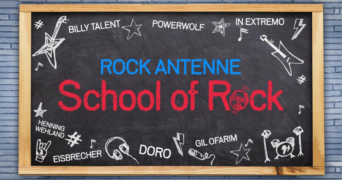 School of Rock: Werdet Deutschlands rockigste Schulklasse und performt mit eurem Lieblings-Rockstar!