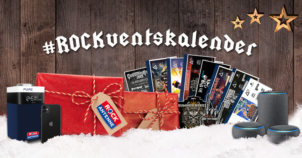 Der ROCK ANTENNE Adventskalender 2019