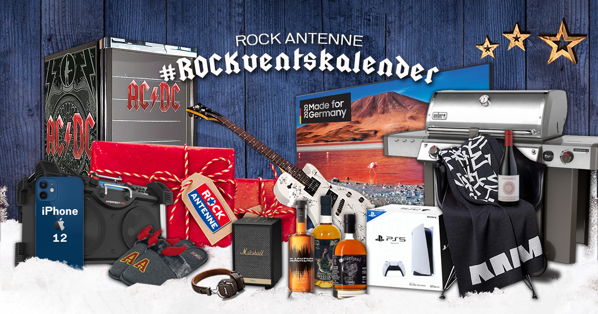 Der ROCK ANTENNE Adventskalender 2020