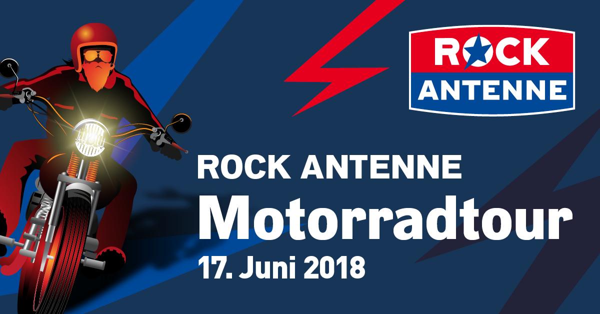Die ROCK ANTENNE Motorradtour