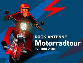 Die ROCK ANTENNE Motorradtour 2018