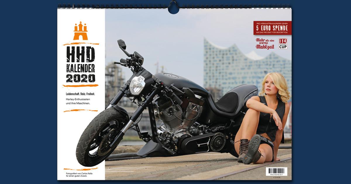 Der Hamburg Harley Days Kalender 2020: Verschenken und Gutes tun