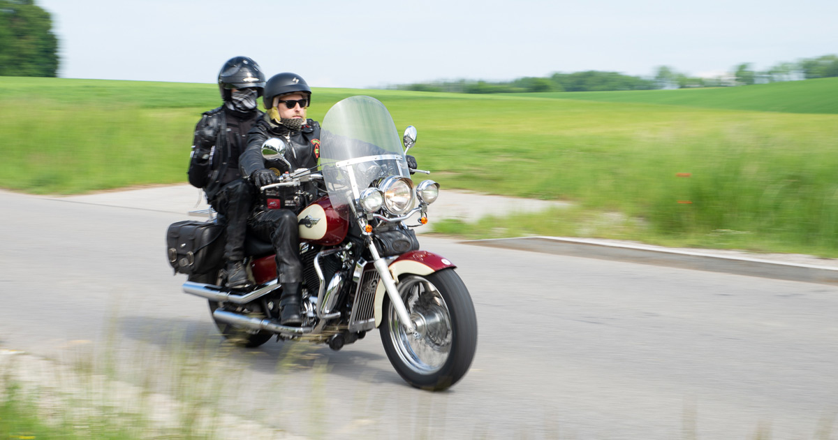 Ride like the Wind: Die Fotos der ROCK ANTENNE Motorradtour 2019!