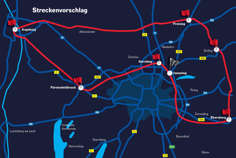 Alle Checkpoints der ROCK ANTENNE Motorradtour 2019