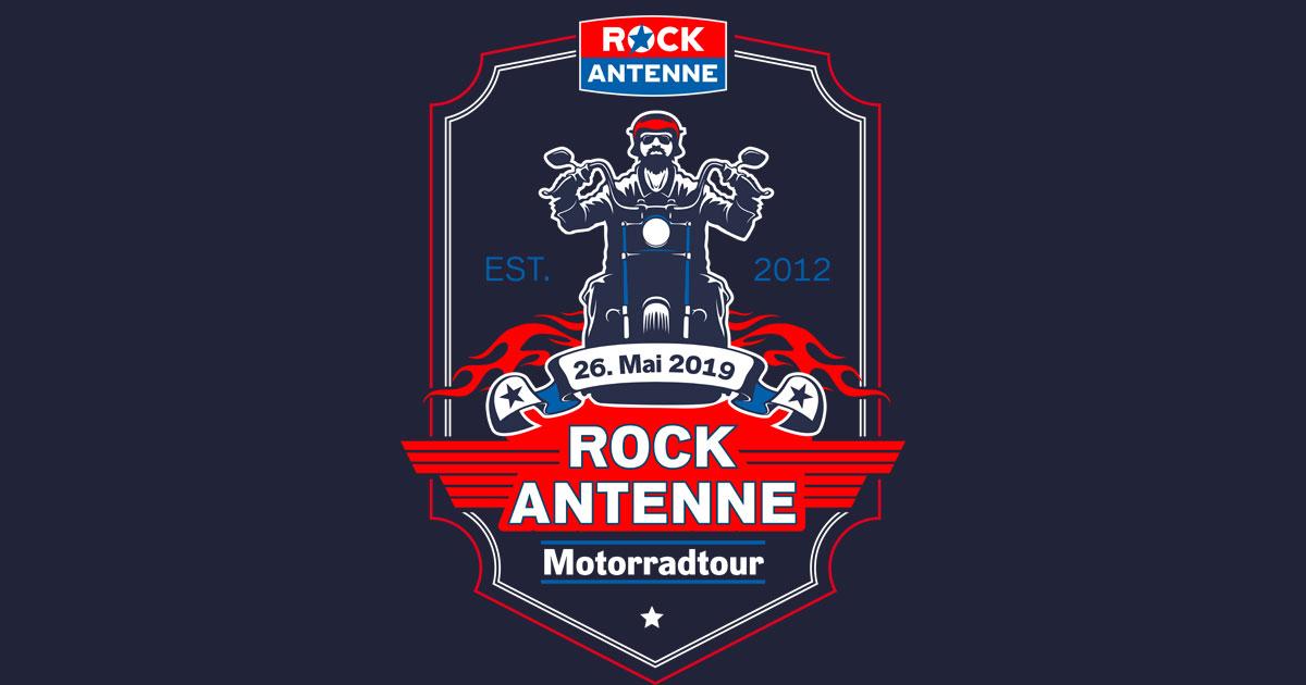 Die ROCK ANTENNE Motorradtour am 26.05.2019!
