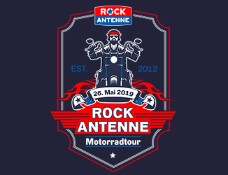 Die ROCK ANTENNE Motorradtour 2019