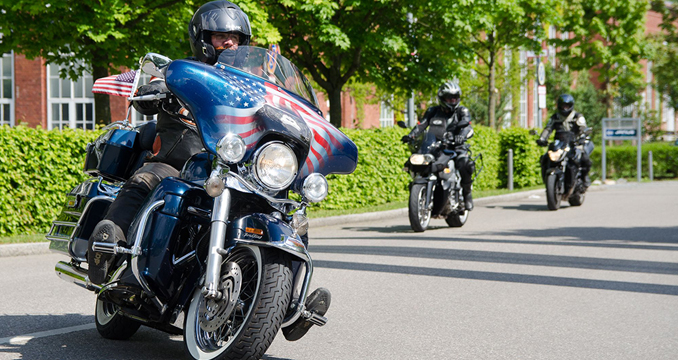 Bikerspaß bei bestem Wetter: So war die ROCK ANTENNE Motorradtour 2014!