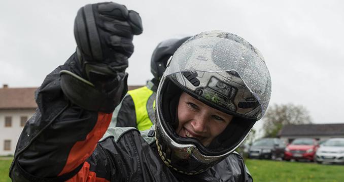 Ein feucht-fröhliches Vergnügen: So war die Motorradtour 2015!