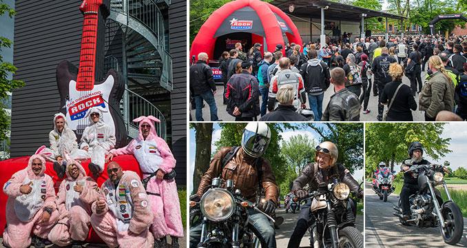 Die ROCK ANTENNE Motorradtour am 21.05.2017: Fotos, Bikes und gute Laune!