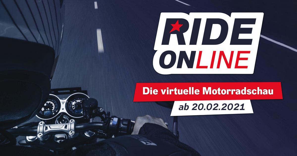RIDE ONline: Die virtuelle Motorradschau auf ROCK ANTENNE