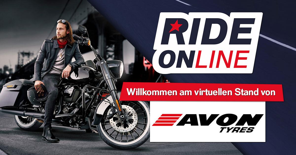 RIDE ONline 2021: Willkommen bei AVON Tyres!