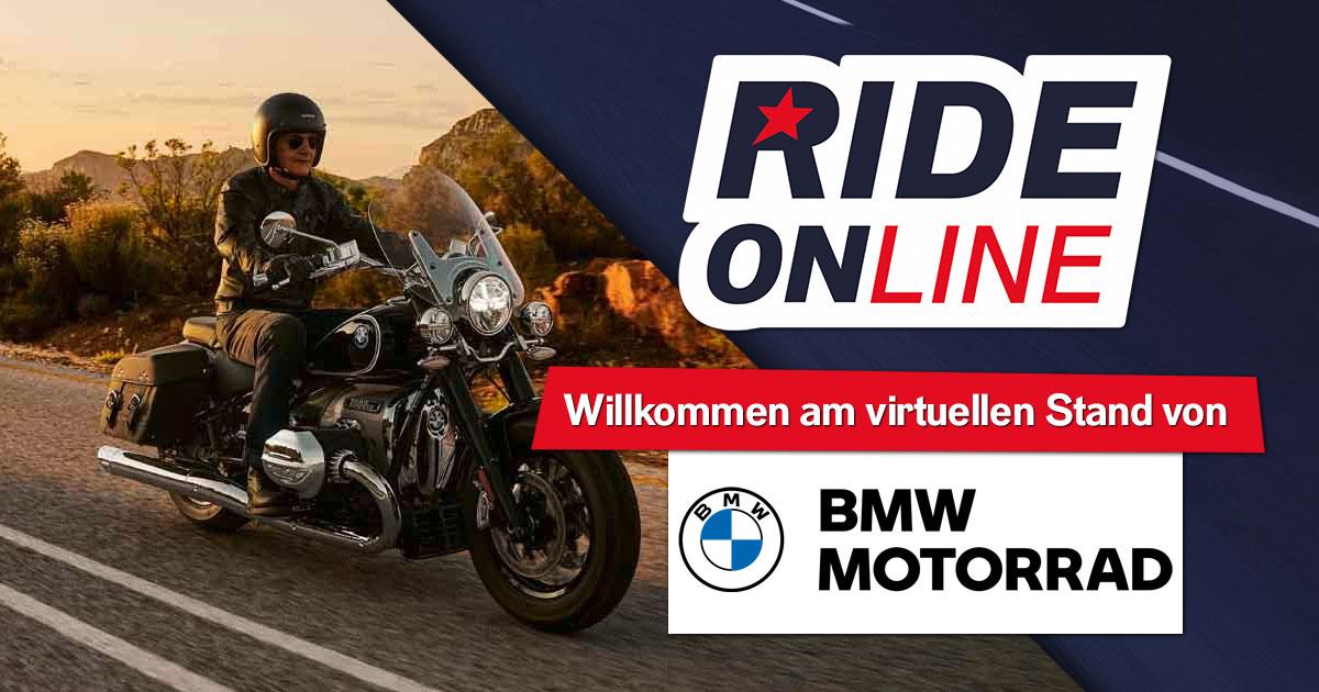 RIDE ONline 2021: Willkommen bei BMW Motorrad!