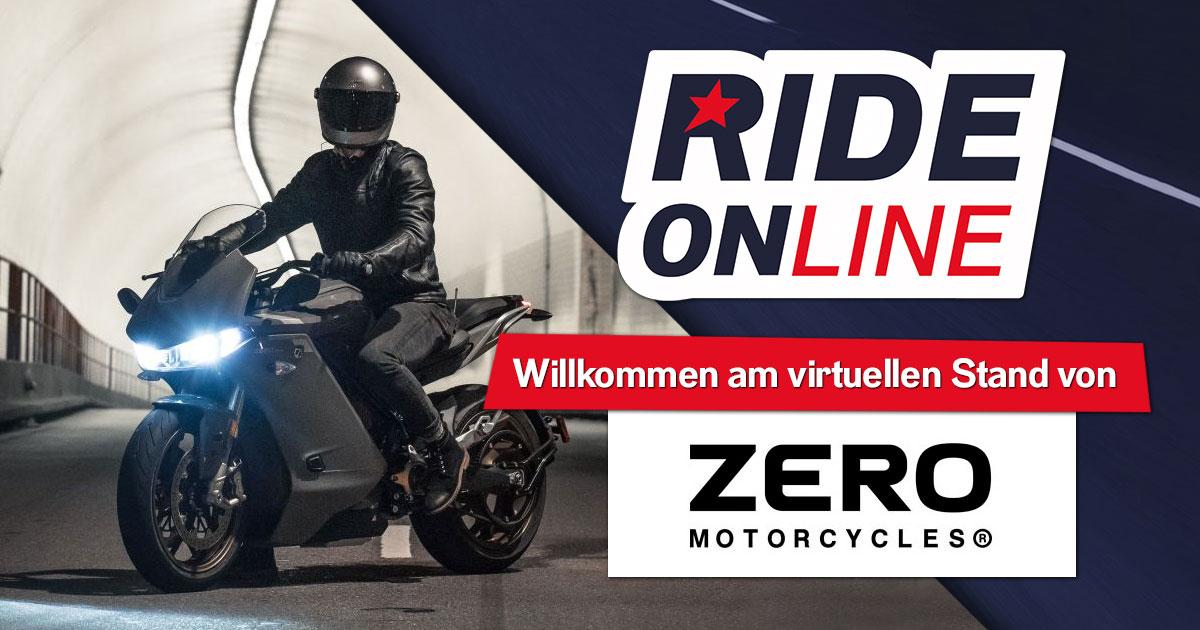 RIDE ONline 2021: Willkommen bei Zero Motorcycles!