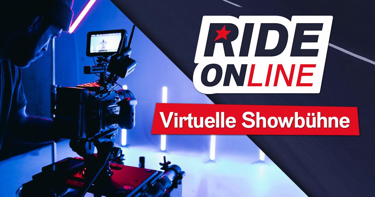 """RIDE ONline 2021: Willkommen auf der """"virtuellen Showbühne"""""""