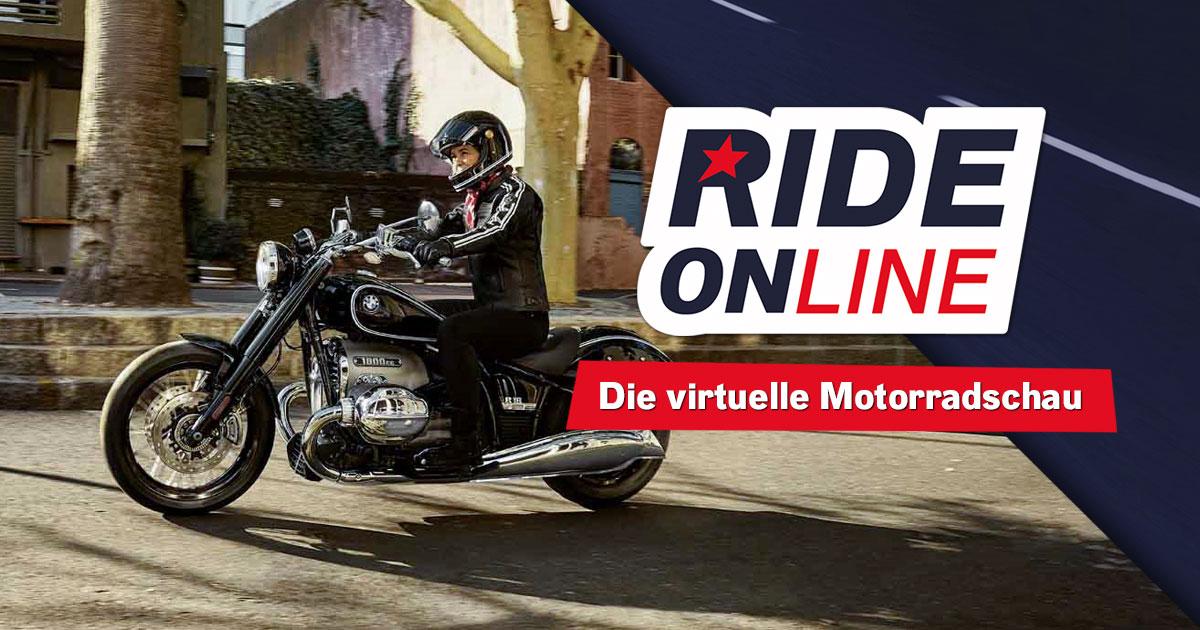 RIDE ONline 2021: Mitmachen und BMW R 18-Wochenende abstauben!