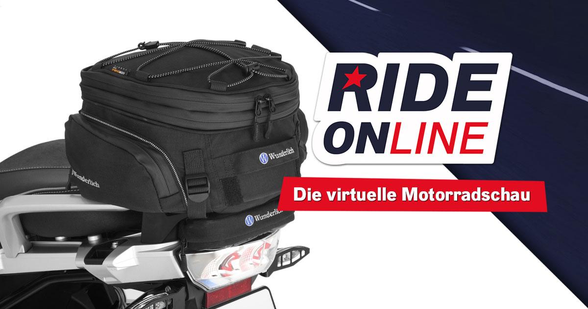 RIDE ONline 2021: Mitmachen & Gepäckträgertasche von Wunderlich abstauben!
