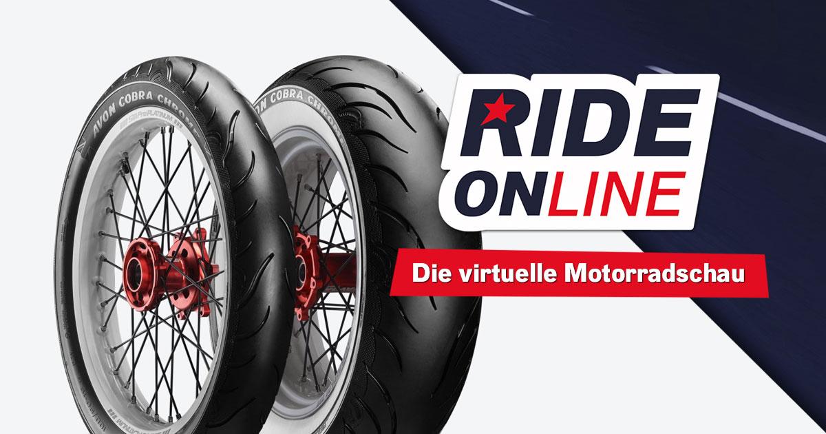 RIDE ONline 2021: Mitmachen & Reifen nach Wahl von AVON Tyres abstauben!