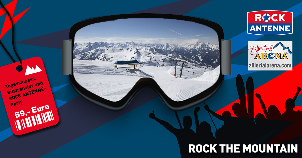 Rock the Mountain am 19.01.2019: Gerlos - Zillertal Arena
