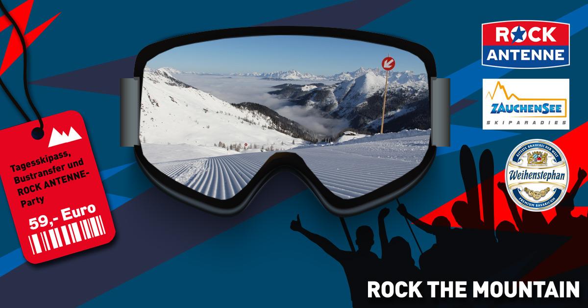 ROCK THE MOUNTAIN am 15.02.2020: Weltcuparena Zauchensee