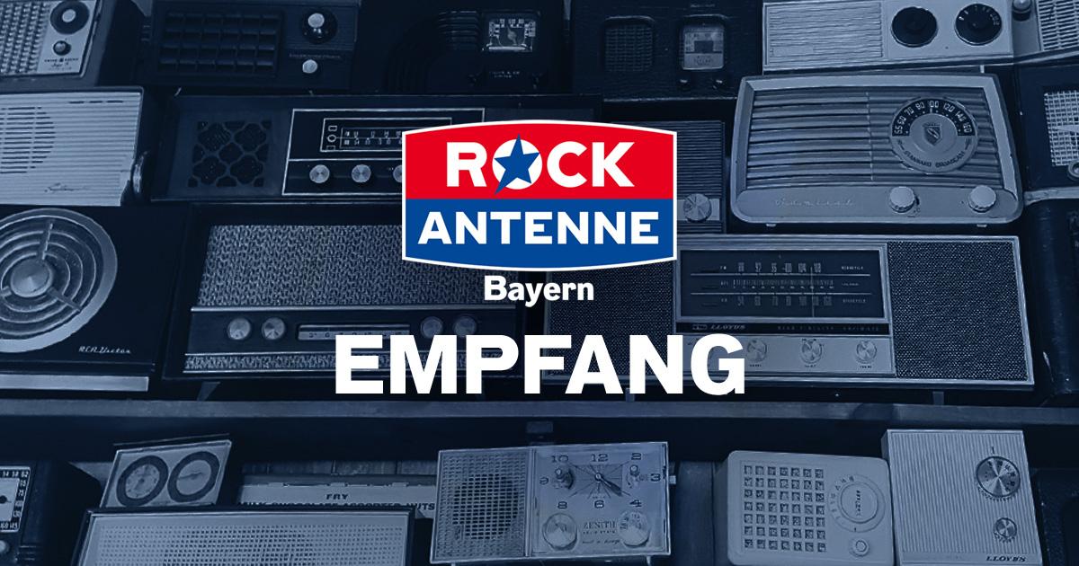 Let's rock: So könnt Ihr ROCK ANTENNE Bayern empfangen!