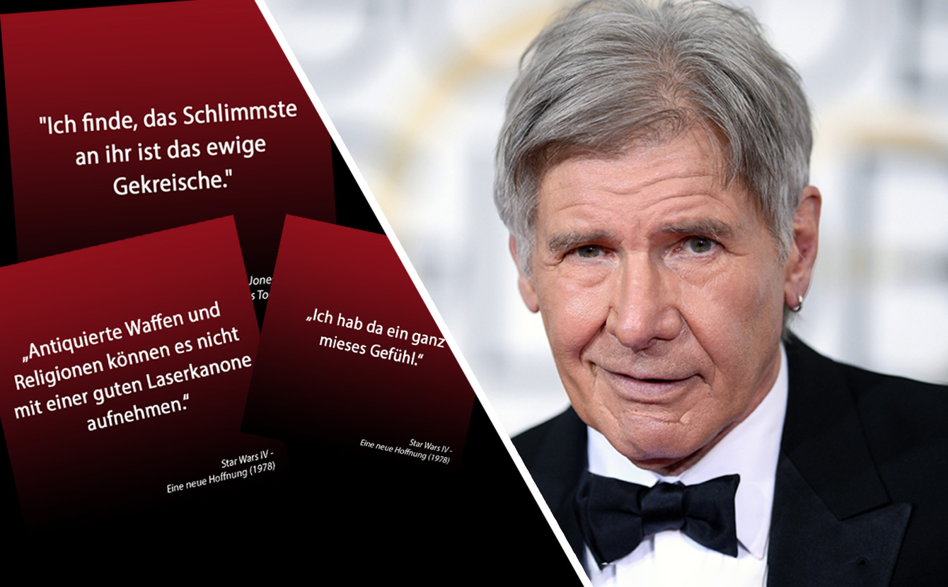 So cool ist Harrison Ford alias Han Solo