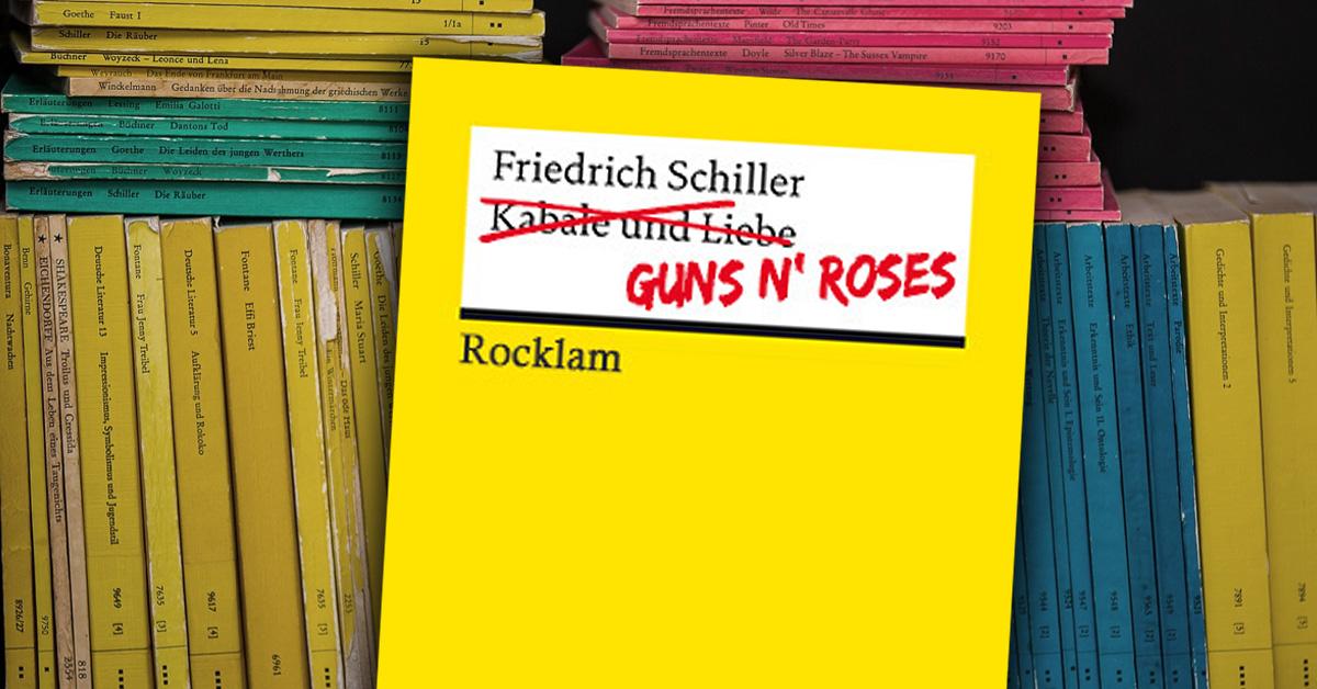 150 Jahre Reclam: Diese ROCKlam-Klassiker muss man kennen!