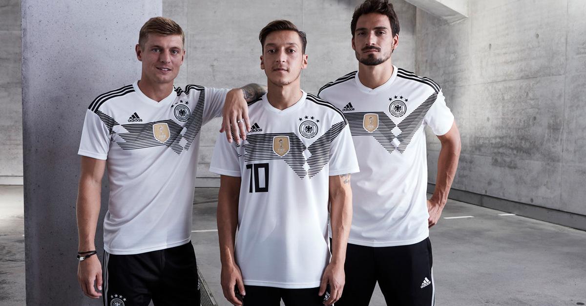 Die Heimtrikots der DFB-Auswahl