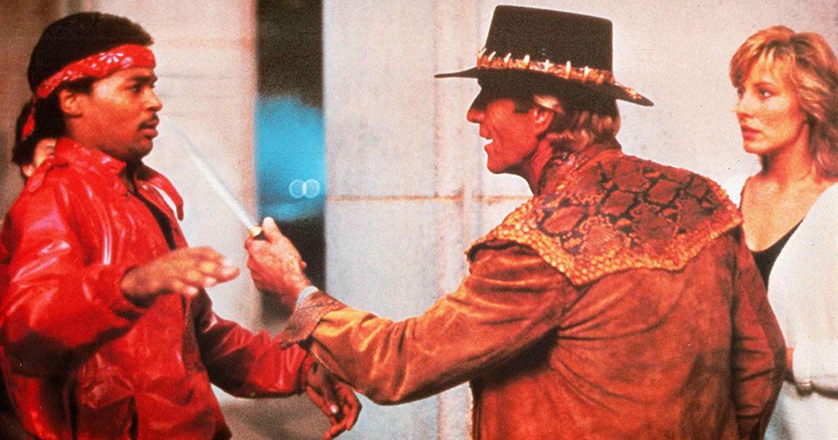 """DAS ist ein Messer: Die besten Film-Zitate aus """"Crocodile Dundee"""""""