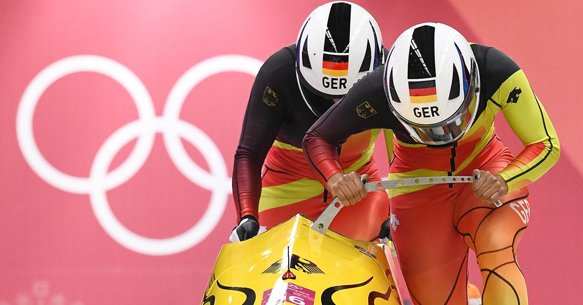 Olympia 2018: Mariama Jamanka holt Gold im Zweierbob