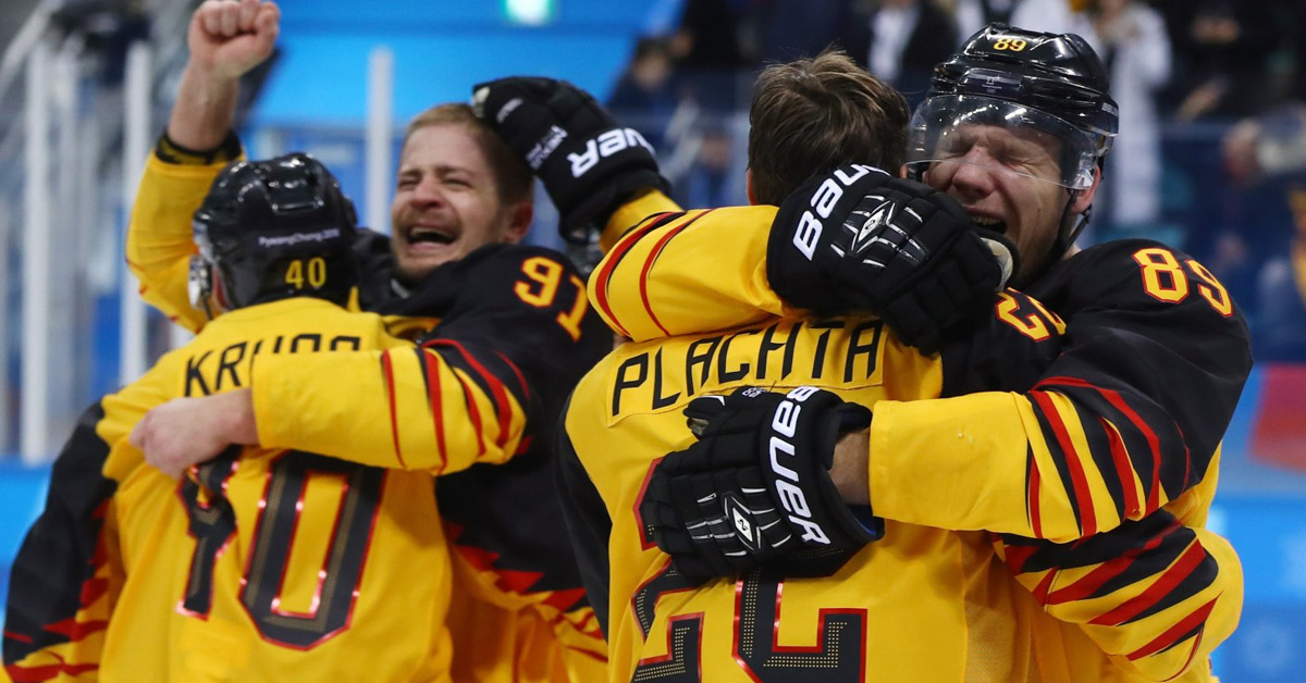 Olympia 2018: DEB-Team macht den Finaleinzug perfekt!