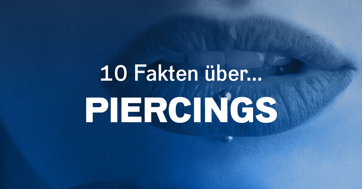 Tag des Piercings: Fakten und pikanter Rockstar-Schmuck