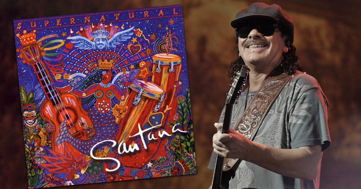 Santana: Großes Comeback mit 'Supernatural' vor 18 Jahren