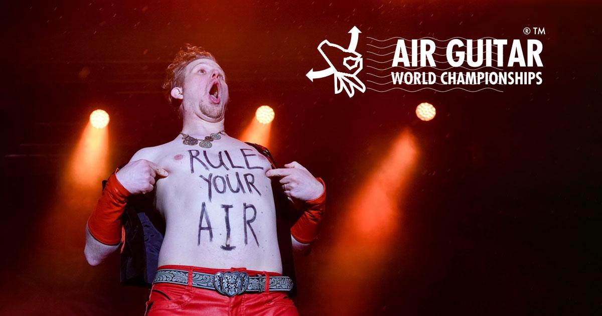 While my (Air) Guitar gently weeps: Die Luftgitarren-Weltmeisterschaft 2019