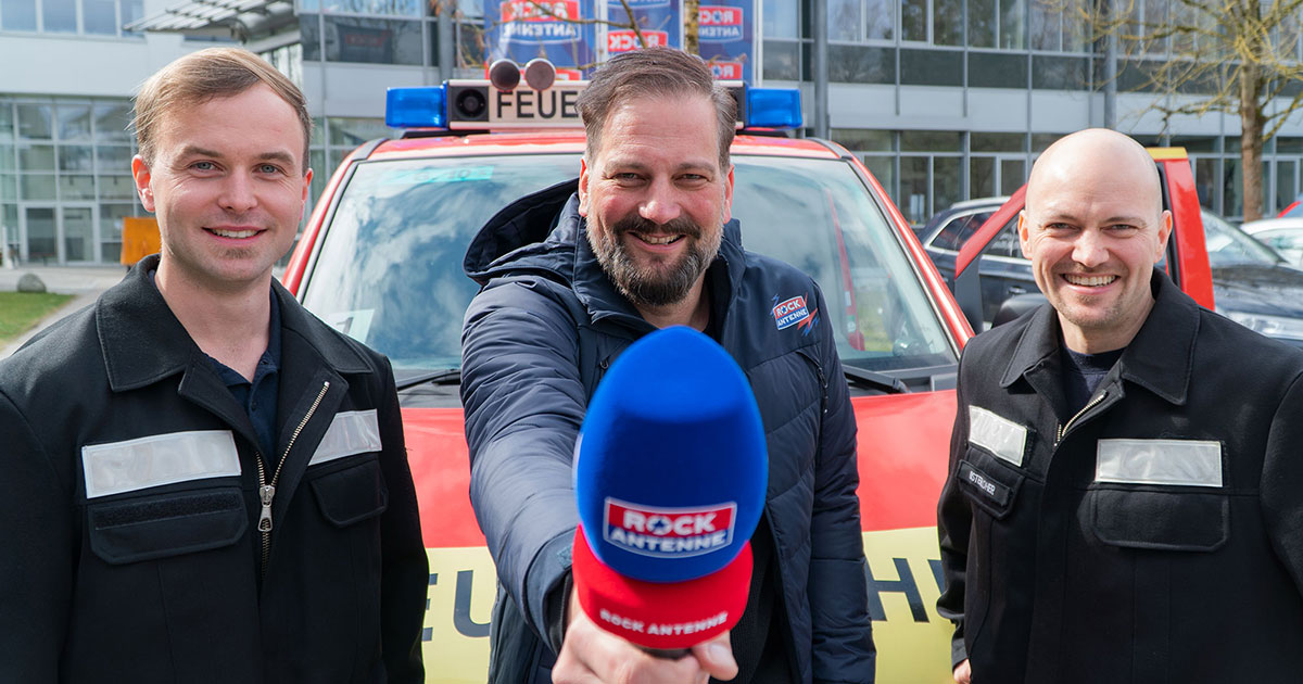 Mit AC/DC und Rammstein auf der Wache: Unser Interview mit der Berufsfeuerwehr München