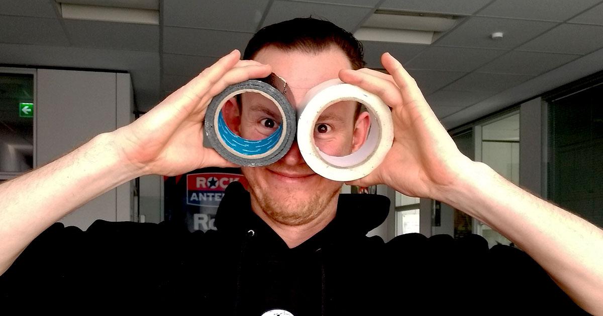 Stargaffer: Die besten Life Hacks mit Gaffer Tape