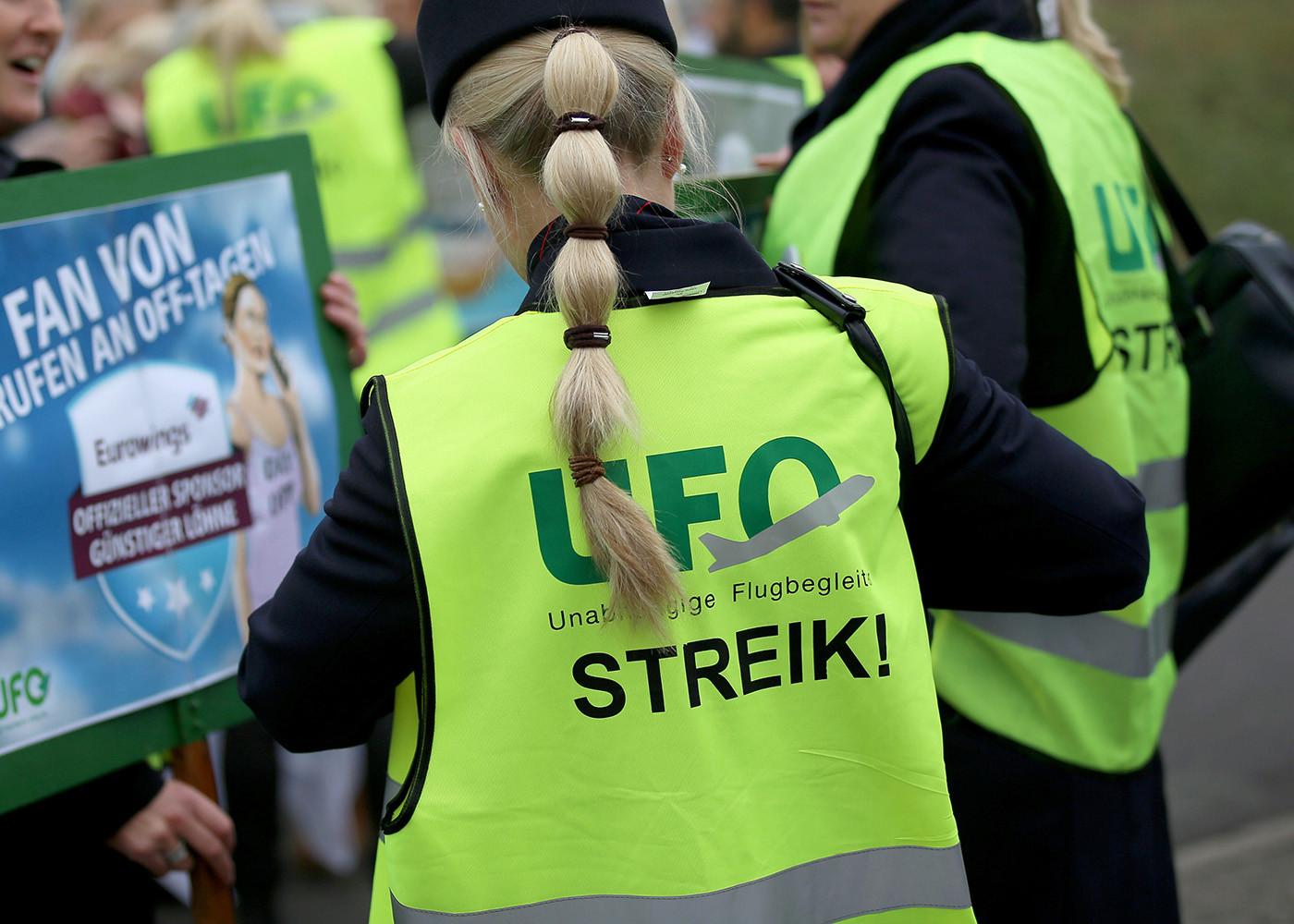 Lufthansa: Gewerkschaft UFO kündigt zweitägigen Streik an