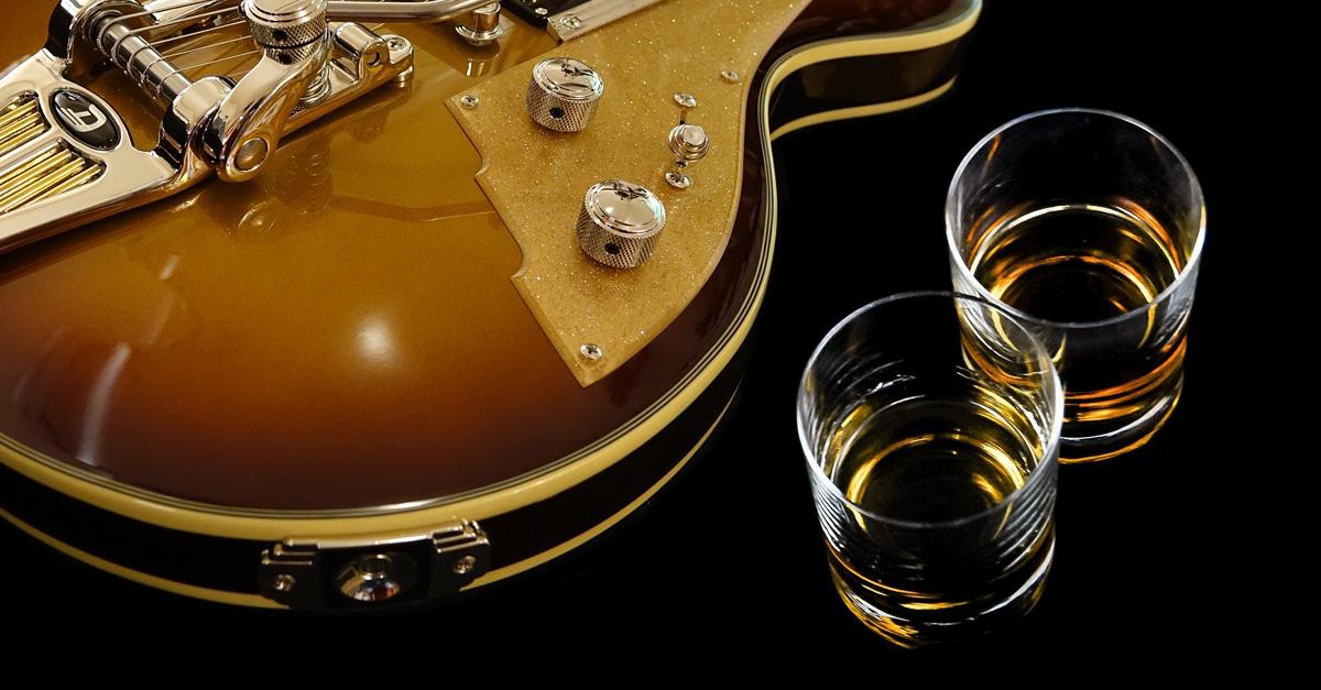 Die 10 besten Rocksongs... zum Whisk(e)ytrinken