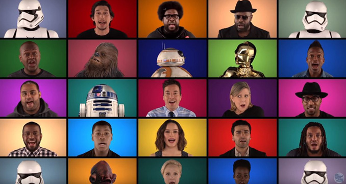Jimmy Fallon rockt Star Wars: Seht hier das Video!