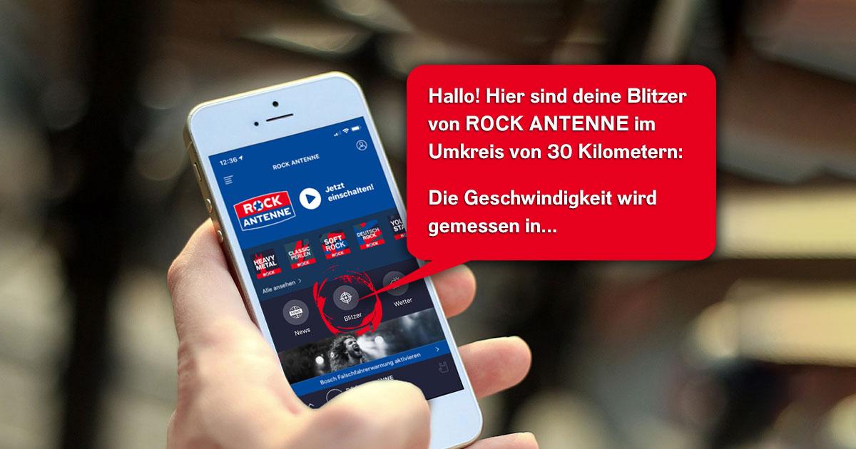 NEU in der App: Blitzer-Meldungen im Umkreis vorlesen lassen